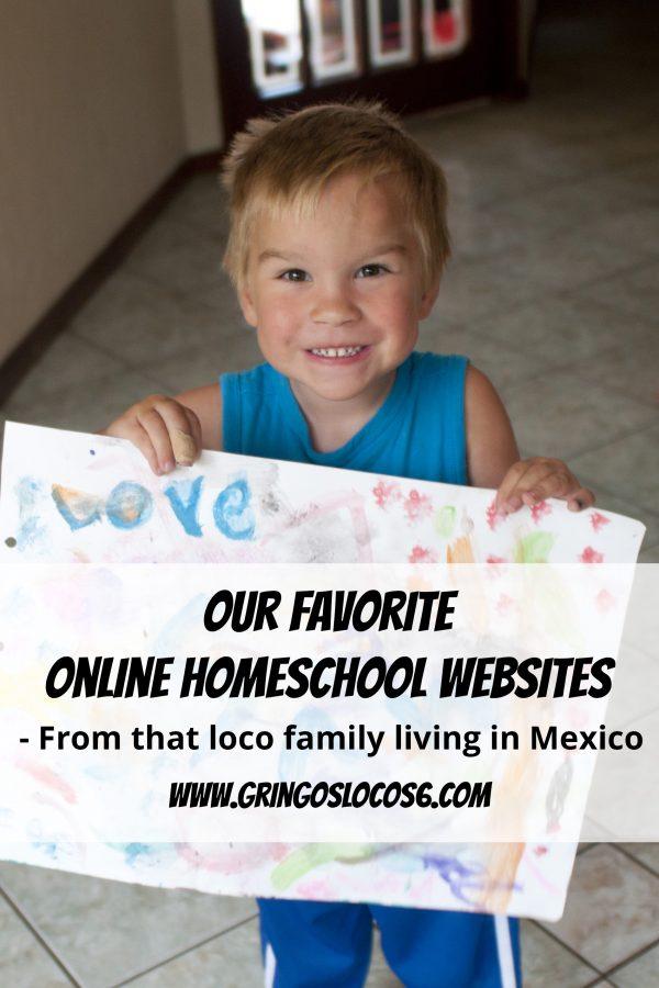 Favorite Online Homeschool Websites