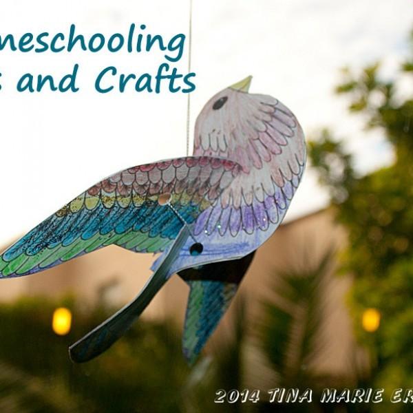 homeschooling-art-crafts