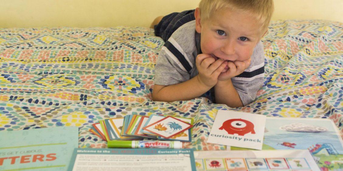 Teach ABC's The Easy Way with Curiosity Pack