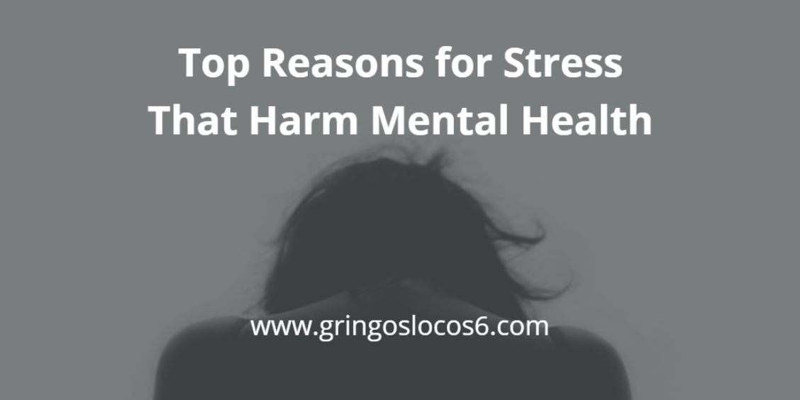 Top Reasons for Stress That Harm Mental Health