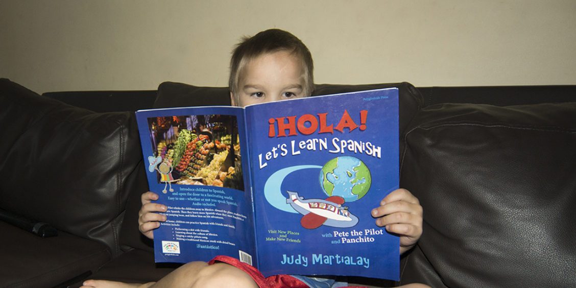 Hola! Let's Learn Spanish Is a Book for the Whole Family